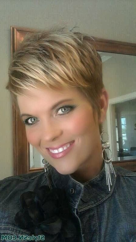 Cool Short Haircut | Hairstyles | Hair Photo Pertaining To Messy Pixie Hairstyles For Short Hair (View 25 of 25)