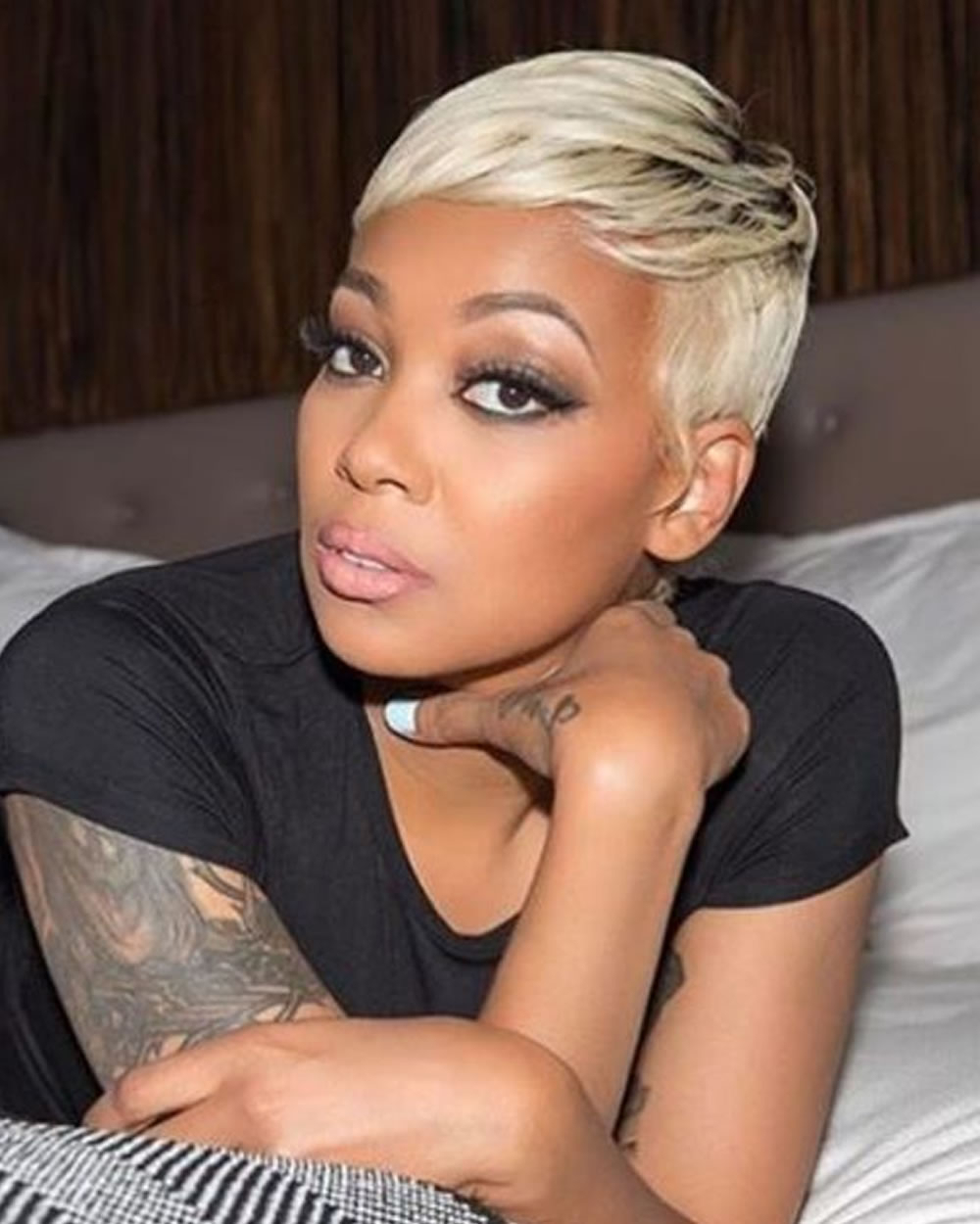 Cool Short Hairstyles For Black Women Over 40 – Nikerell Pertaining To Short Hairstyles Fine Hair Over  (View 15 of 25)