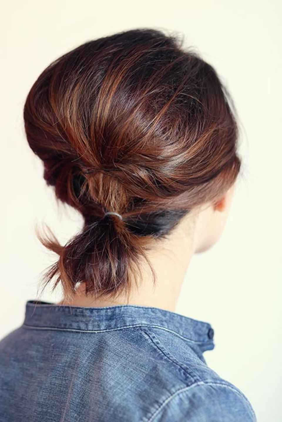Cool Updo Hairstyles For Women With Short Hair | Hair | Pinterest Intended For Teased Short Hairstyles (View 23 of 25)