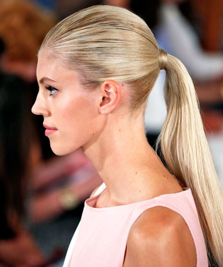 Creative Ponytail Ideas With Wrapped High Ponytails (View 24 of 25)
