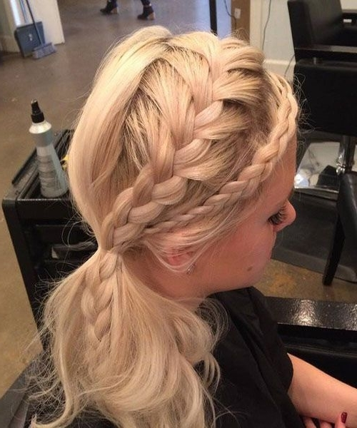 Creative Side Ponytail. | Prom Hairstyles (View 2 of 25)