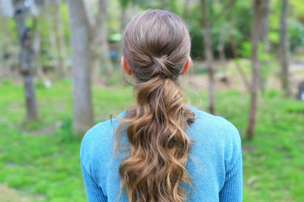 Criss Cross Ponytail | Cute Girls Hairstyles Inside Criss Cross Side Ponytails (View 19 of 25)