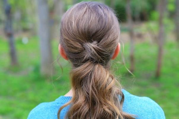 Criss Cross Ponytail | Cute Girls Hairstyles Throughout Criss Cross Side Ponytails (View 7 of 25)