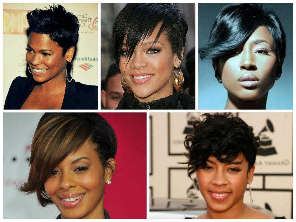 Cropped Hairstyle Ideas For Black Women – Hair World Magazine Inside Razor Cut Short Hairstyles (View 10 of 25)