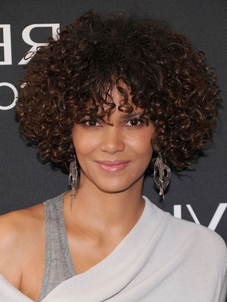 Curly Hairstyles For Medium Hair For Black Women 190 | Hair In Curly Short Hairstyles For Black Women (View 14 of 25)