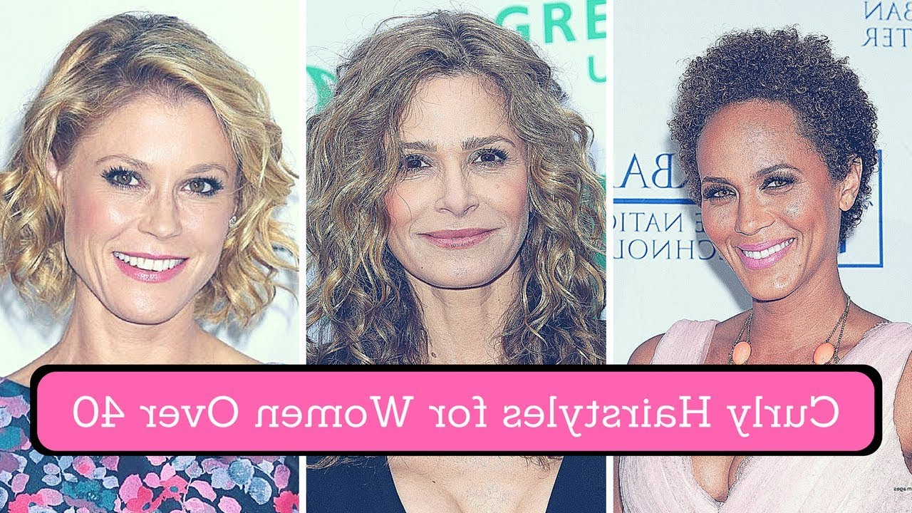 Curly Hairstyles For Women Over 40 (2018) – Short, Medium, Long In Short Curly Hairstyles For Over (View 10 of 25)