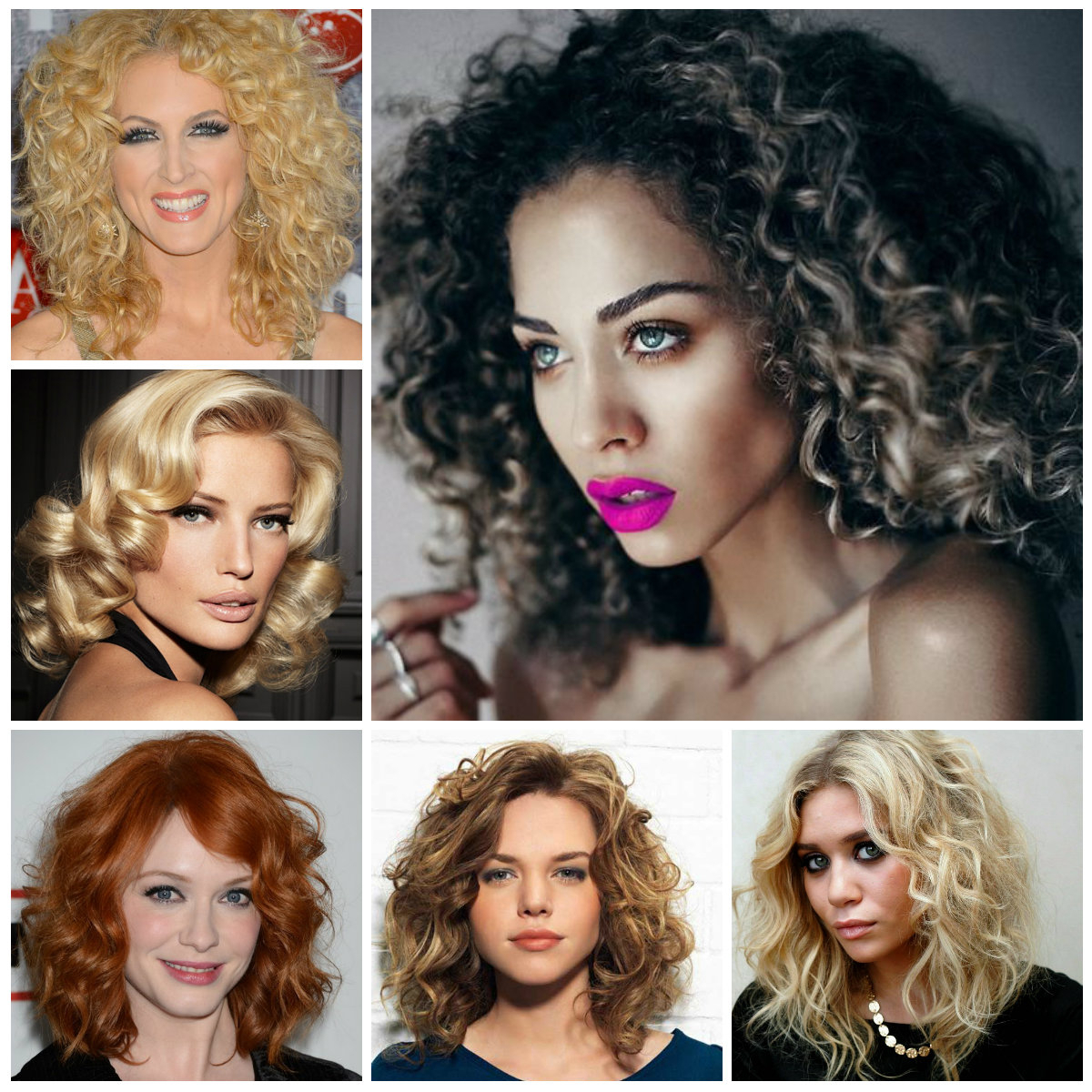 Curly Hairstyles | Haircuts, Hairstyles 2019 And Hair Colors For Pertaining To Trendy Short Curly Hairstyles (View 22 of 25)