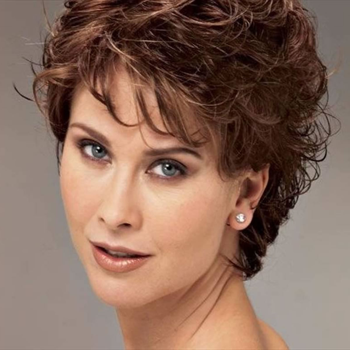 Curly Short Hairstyles For Older Women Over 50 – Best Short Haircuts With Short Haircuts For Women Over 40 With Curly Hair (View 19 of 25)