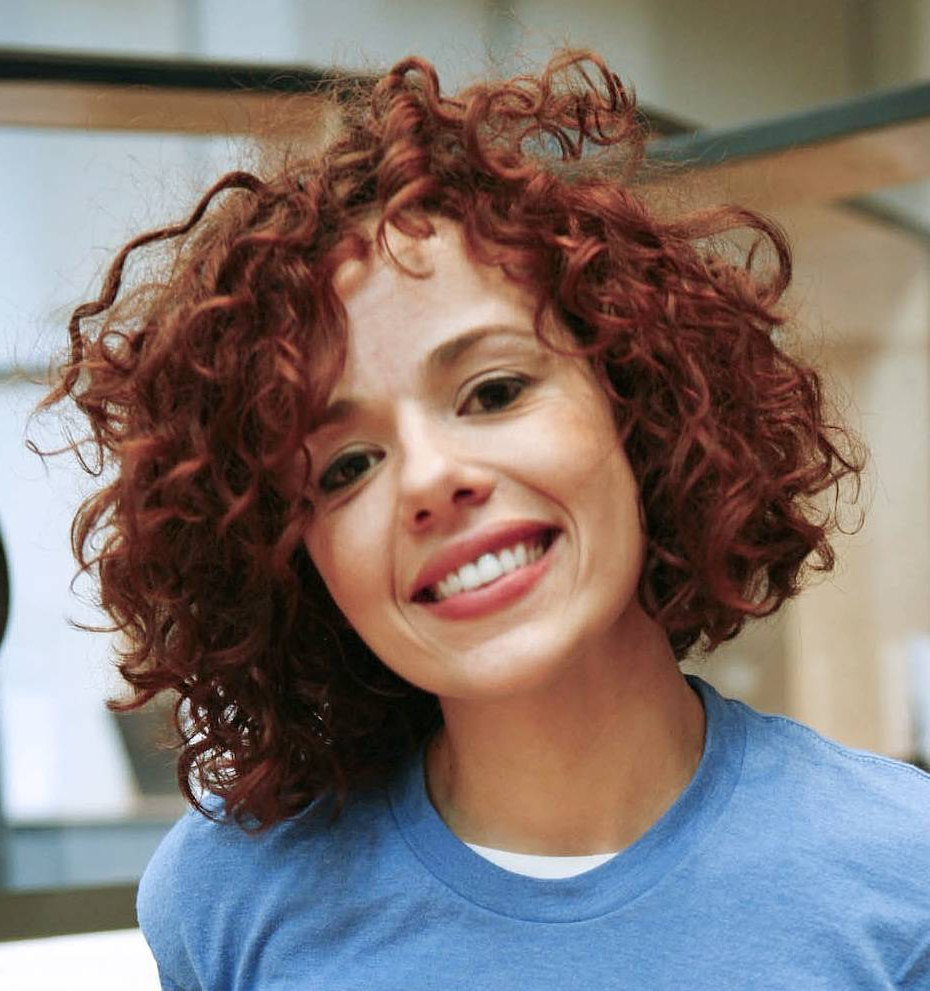 Curly Short Hairstyles For Round Faces   Hairstyle Ideas In 2018 In Short Hairstyles For Round Faces Curly Hair (View 22 of 25)