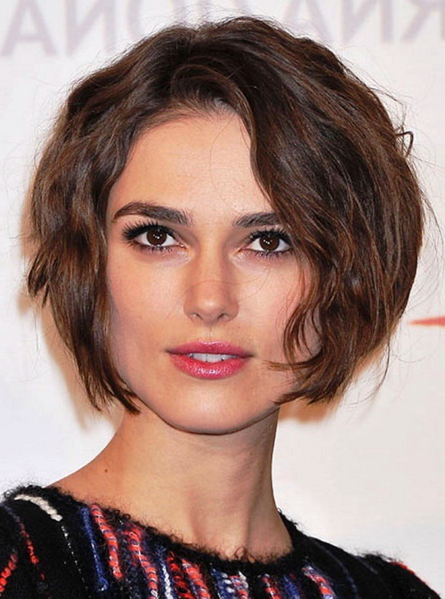 Curly Short Hairstyles For Square Faces Click For Other Hair Styles Pertaining To Short Hairstyles For A Square Face (View 4 of 25)