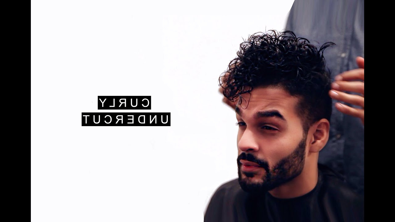 Curly Undercut Hairstyle Tutorial   Short Hairstyles For Men With Regard To Undercut Hairstyles For Curly Hair (View 4 of 25)