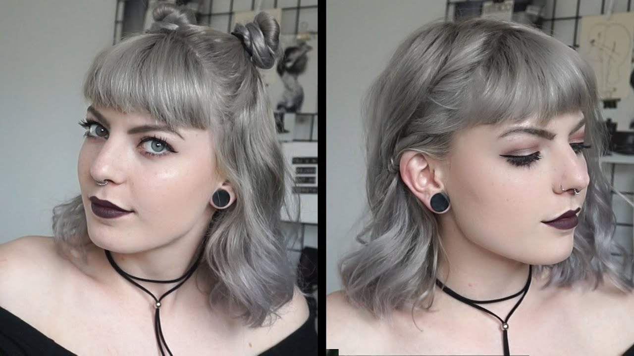 Cute And Easy Hairstyles | For Short Hair – Youtube Throughout Cute Hairstyles With Short Hair (View 23 of 25)
