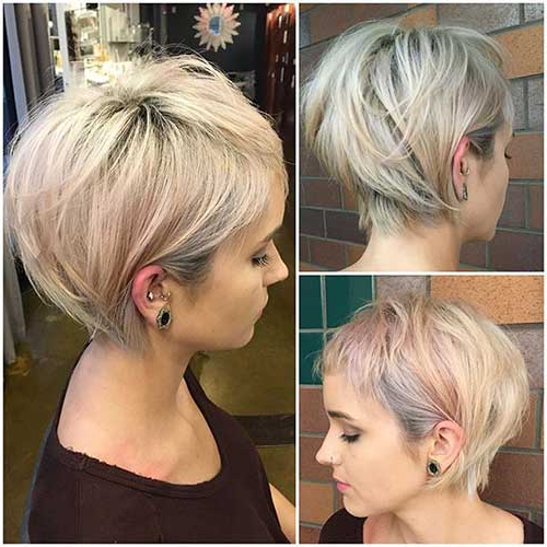 Cute And Stylish Short Hairstyles You Will Love | Short Hairstyles Pertaining To Stylish Grown Out Pixie Hairstyles (View 13 of 25)