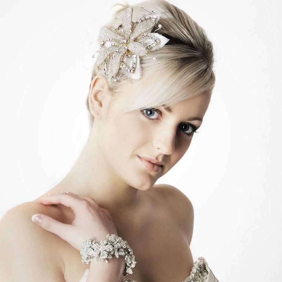 Cute Bridesmaids Hairstyles For Short Hair | Natural Hair Care Throughout Cute Wedding Hairstyles For Short Hair (View 15 of 25)