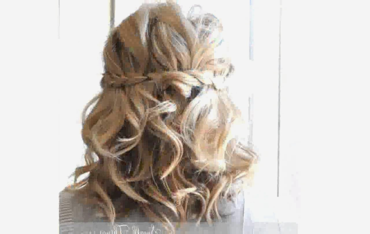 Cute Easy Homecoming Hairstyles – Hairstyles Ideas For Homecoming Short Hair Styles (View 20 of 25)