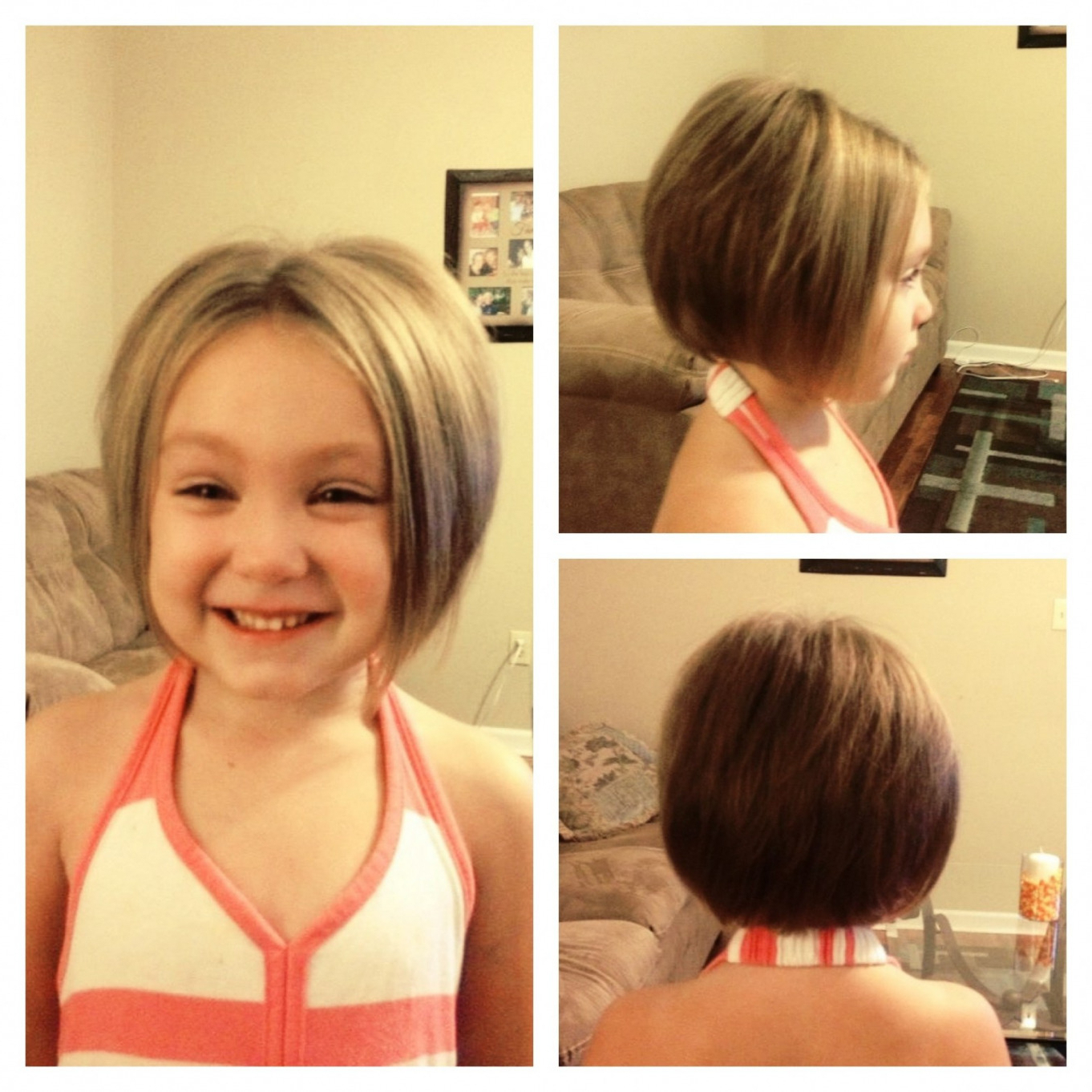 Cute Hairstyle For A Bob Haircut Girls Short Haircuts Kids, Girls With Regard To Kids Short Haircuts With Bangs (View 18 of 25)