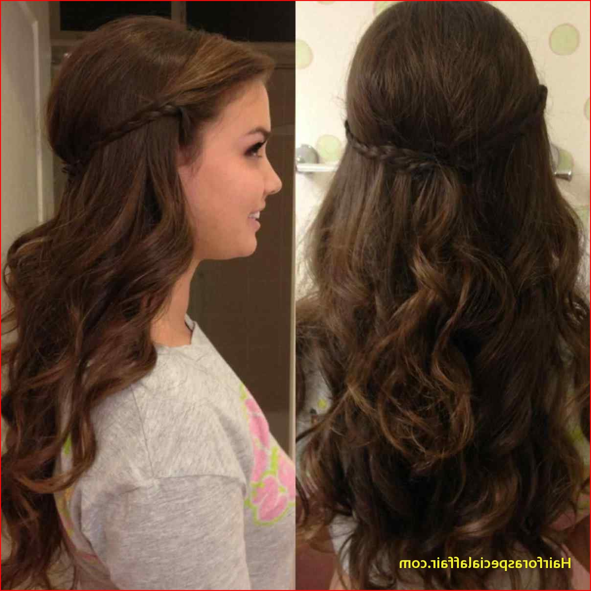 Cute Hairstyles For Long Hair Tumblr Hair Curly Prom Hairstyles Intended For Short Curly Haircuts Tumblr (View 7 of 25)