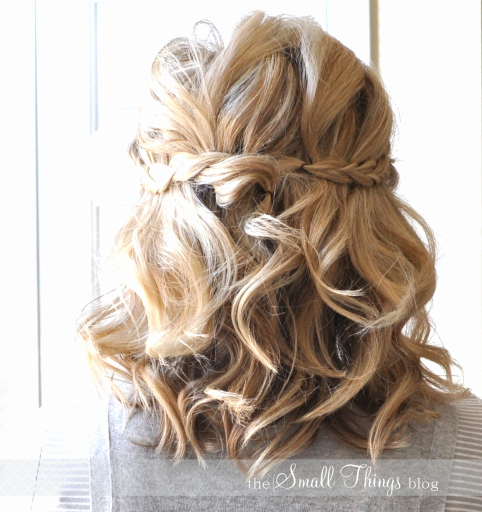 Cute Half Up Hairstyles For Short Hair Half Up Prom Hairstyles For Within Short Hairstyles For Prom (View 24 of 25)