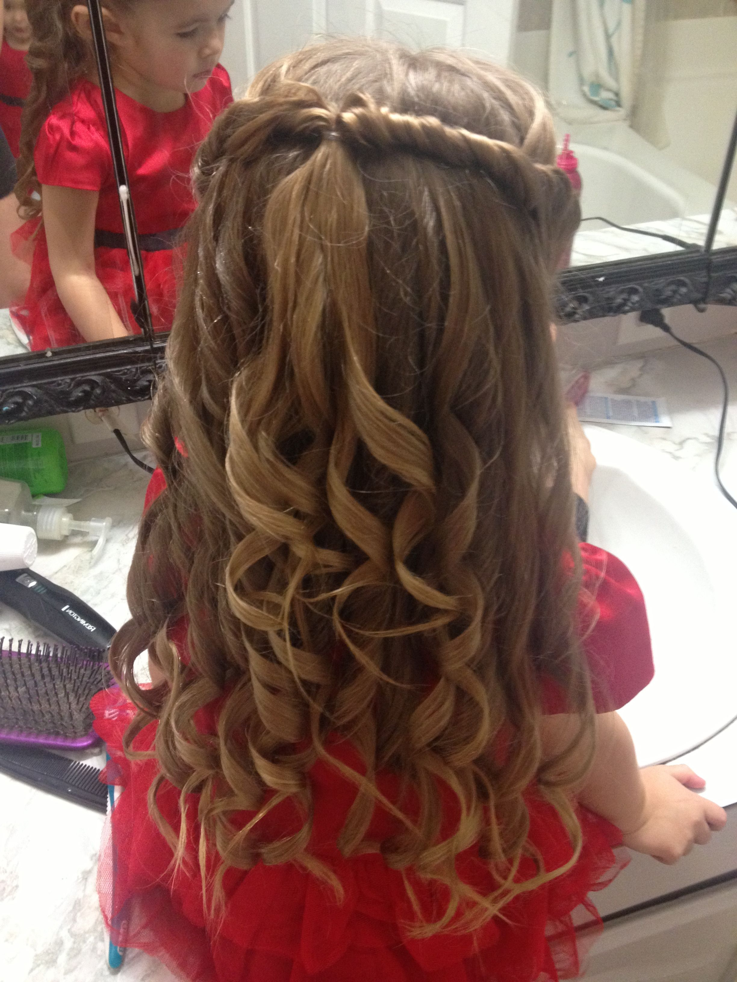 Cute Little Girls Hair Style For A Special Occasion (View 11 of 25)