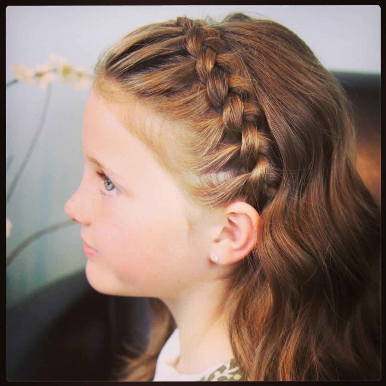 Cute Long Little Girls Hairstyles For School: How To Style Braid Intended For Cute Short Hairstyles With Headbands (View 16 of 25)