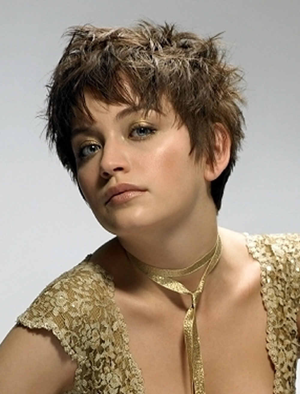 Cute Pixie Shaggy Short Hair Hairstyles For Round Faces – Hairstyles Inside Cute Shaggy Short Haircuts (View 14 of 25)