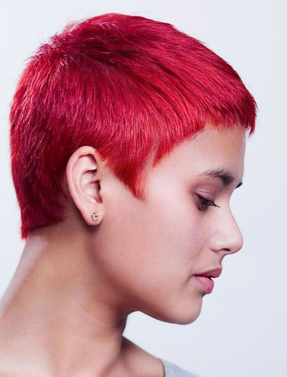 Cute Red Hair Color Very Short Pixie Hairstyles – Hairstyles Regarding Cute Color For Short Hair (View 25 of 25)
