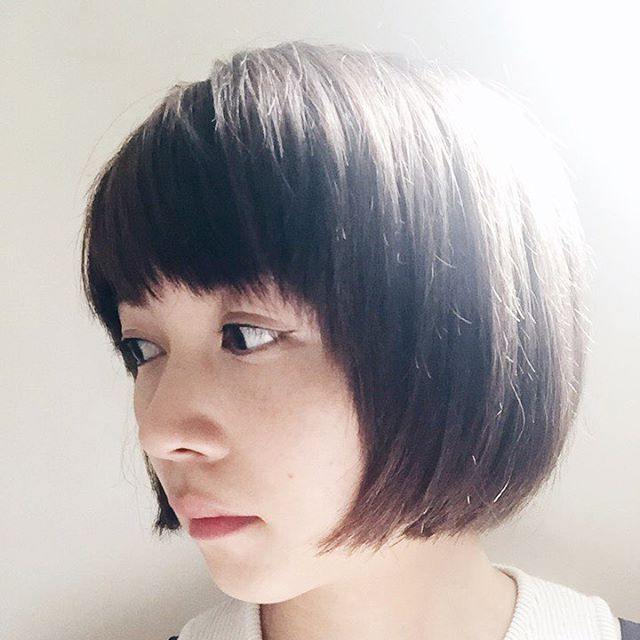 Cute Rounded Short Bob Haircut For Girls – Hairstyles Weekly Regarding Rounded Tapered Bob Hairstyles With Shorter Layers (View 14 of 25)