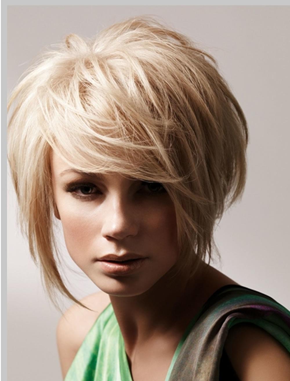 Cute Short Blonde Hairstyles 2018 – Best Short Hairstyles Regarding Short Blonde Hair With Bangs (View 18 of 25)
