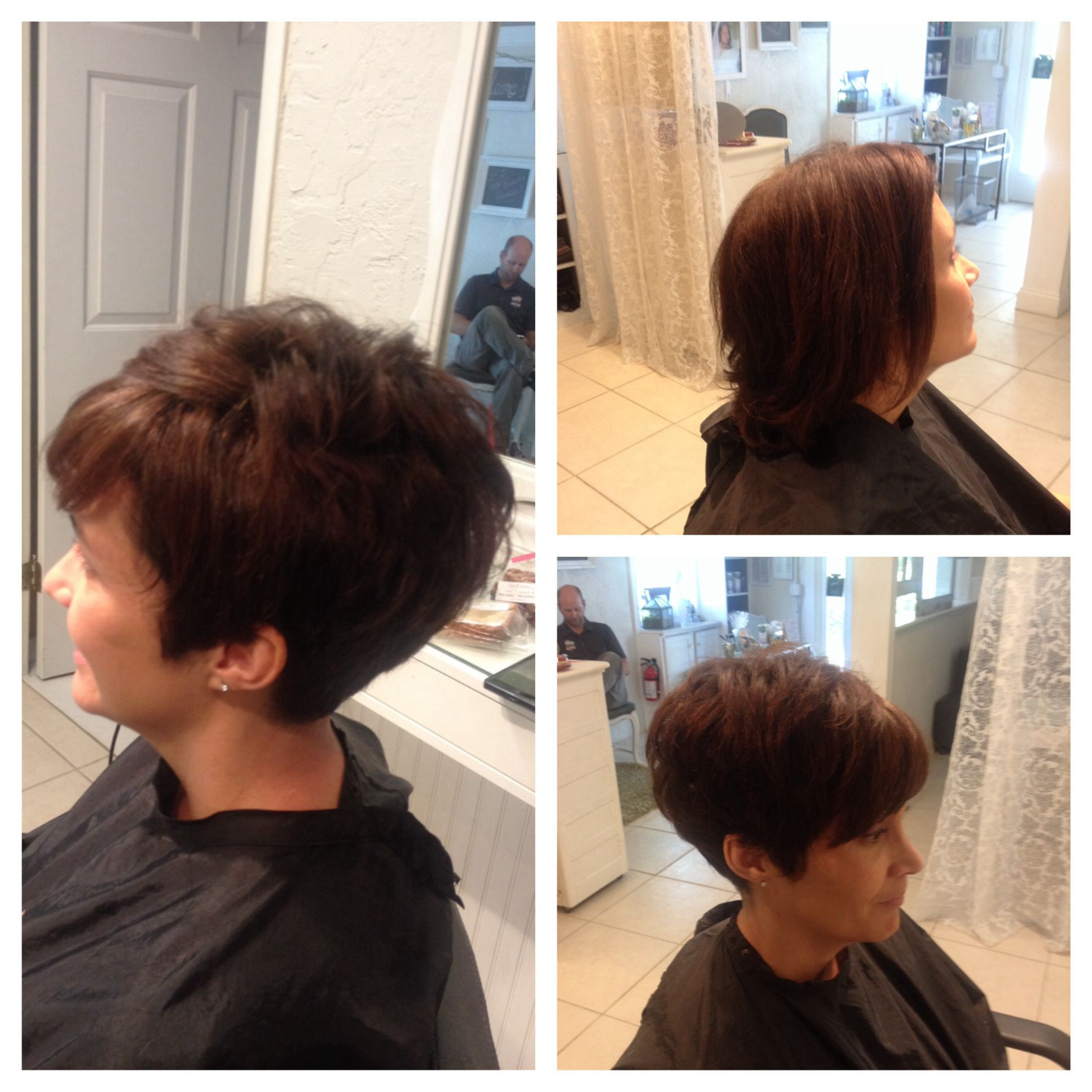Cute Short Hair Make Overperfect Cut For Thick, Coarse Hair Intended For Short Haircuts For Coarse Gray Hair (View 10 of 25)
