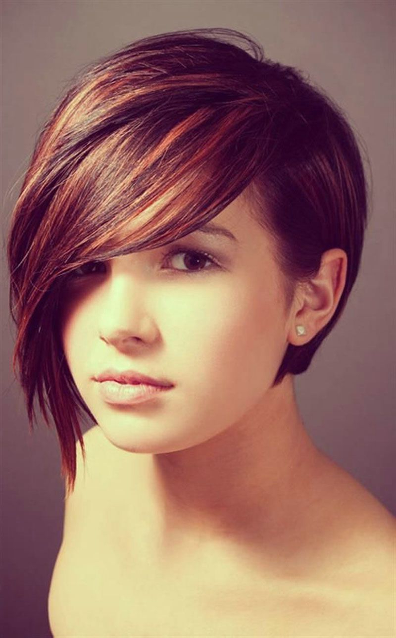 Cute Short Haircut For Girls Cute Short Hairstyles For Teenage Girls Intended For Teenage Girl Short Hairstyles (View 11 of 25)
