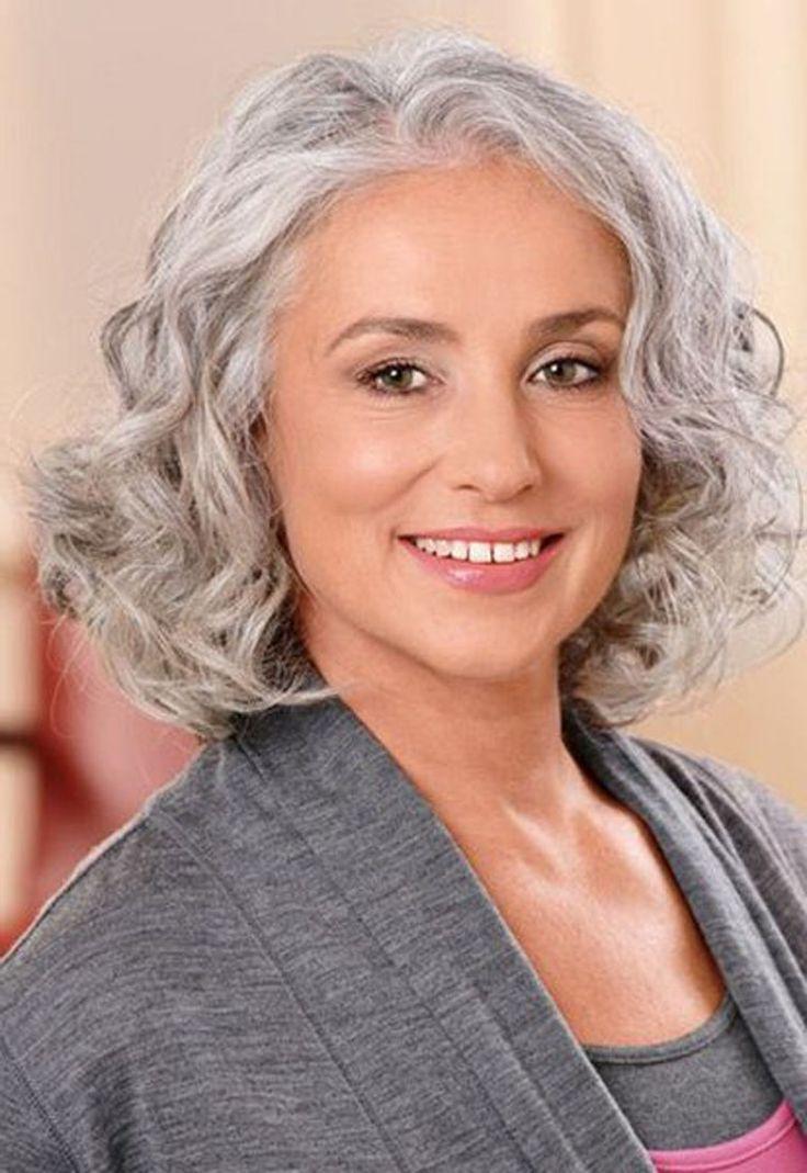 Cute Short Haircuts For Grey Hair – Hairstyles For Short Hair | Hair Regarding Short Haircuts For Gray Hair (View 3 of 25)