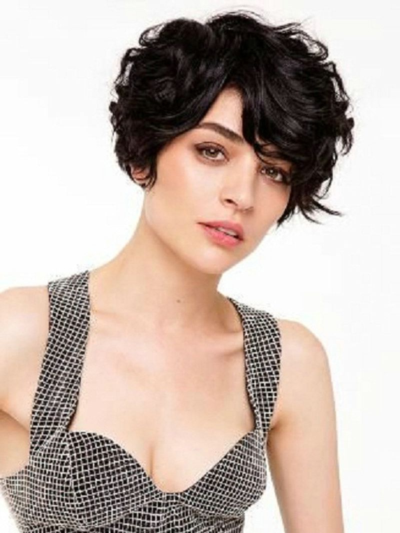 Cute Short Haircuts For Naturally Curly Hair   Hair   Pinterest Regarding Short Haircuts For Naturally Curly Hair (View 12 of 25)