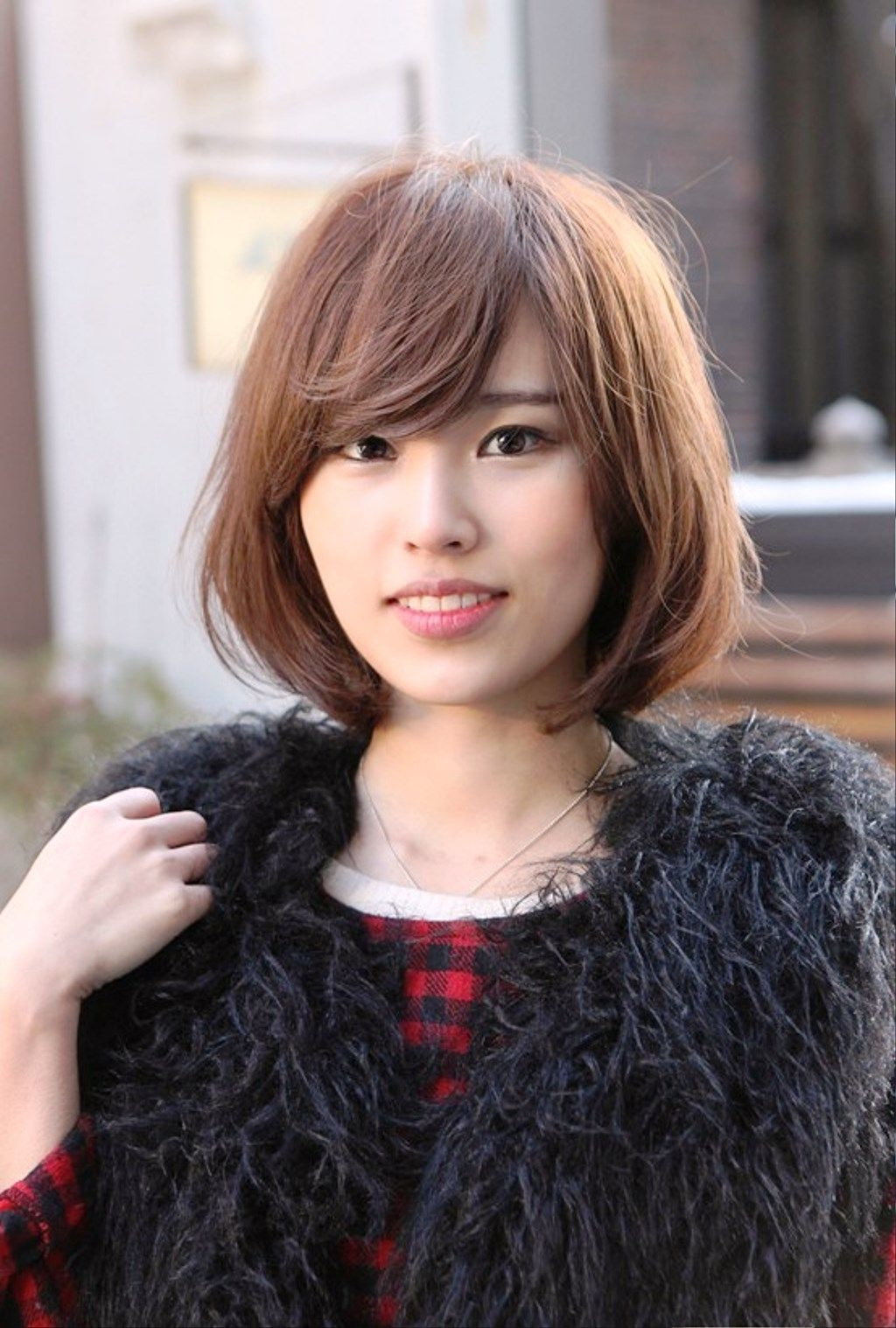 Cute Short Haircuts With Side Bangs With Regard To Short Haircuts With Side Fringe (View 12 of 25)