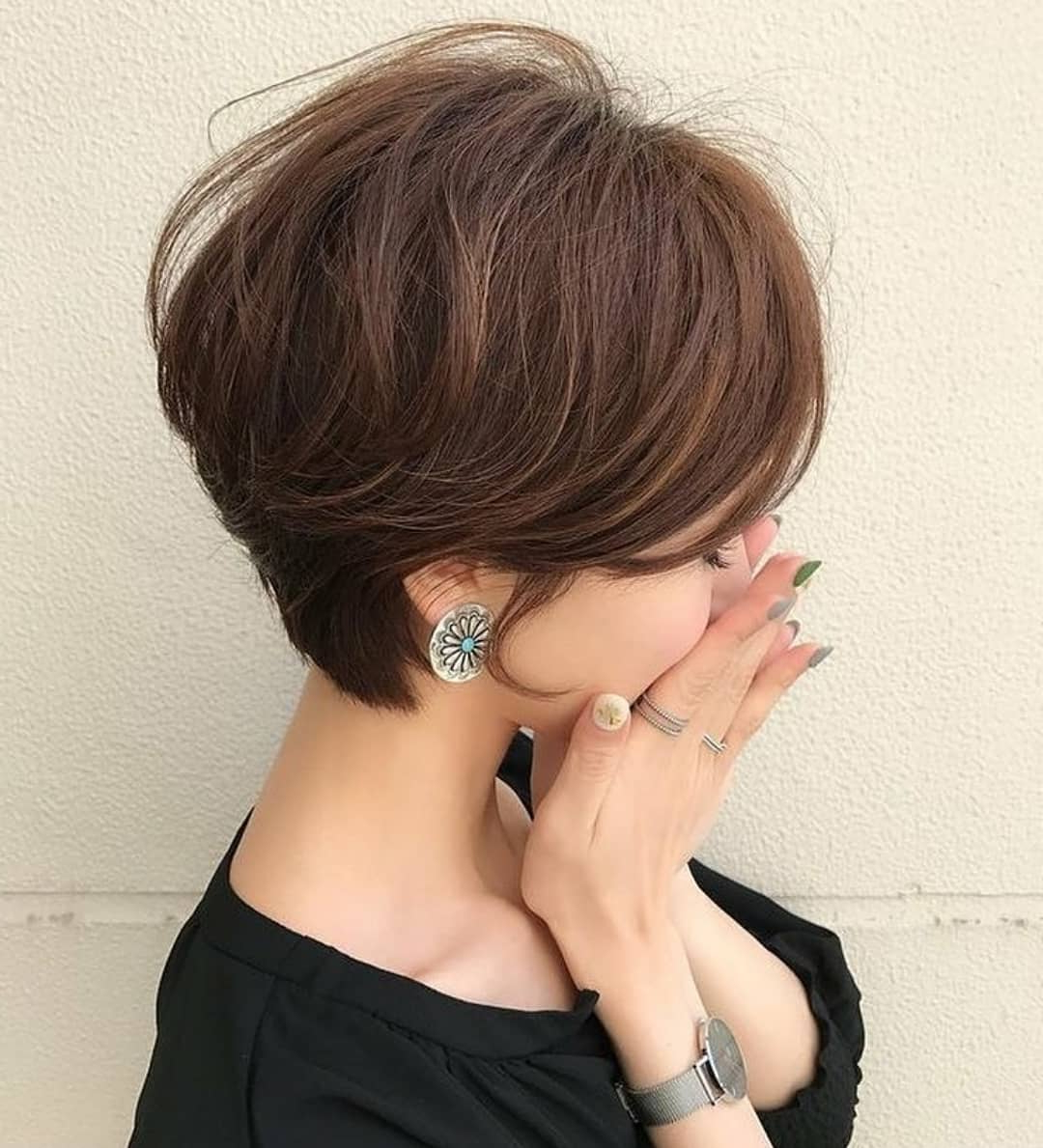 Cute Short Hairstyles And Haircuts For Young Girl – Popular Haircuts In Young Girl Short Hairstyles (View 8 of 25)