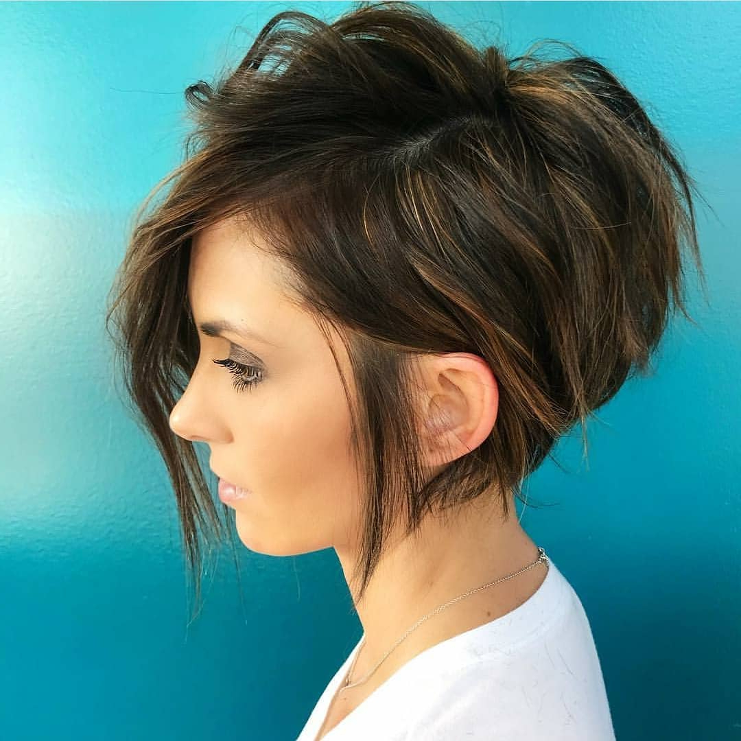 Cute Short Hairstyles And Haircuts For Young Girl – Popular Haircuts Regarding Young Girl Short Hairstyles (View 9 of 25)