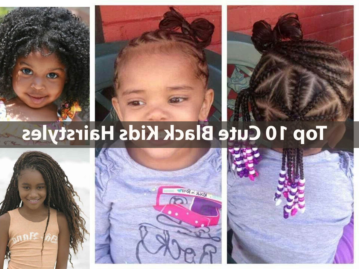 Cute Short Hairstyles Black Hair – Hairstyles Ideas Pertaining To Black Little Girl Short Hairstyles (View 23 of 25)