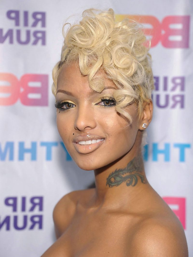 Cute Short Hairstyles For Black Women 2013 – Hairstyle For Women & Man Within Edgy Short Haircuts For Black Women (View 18 of 25)