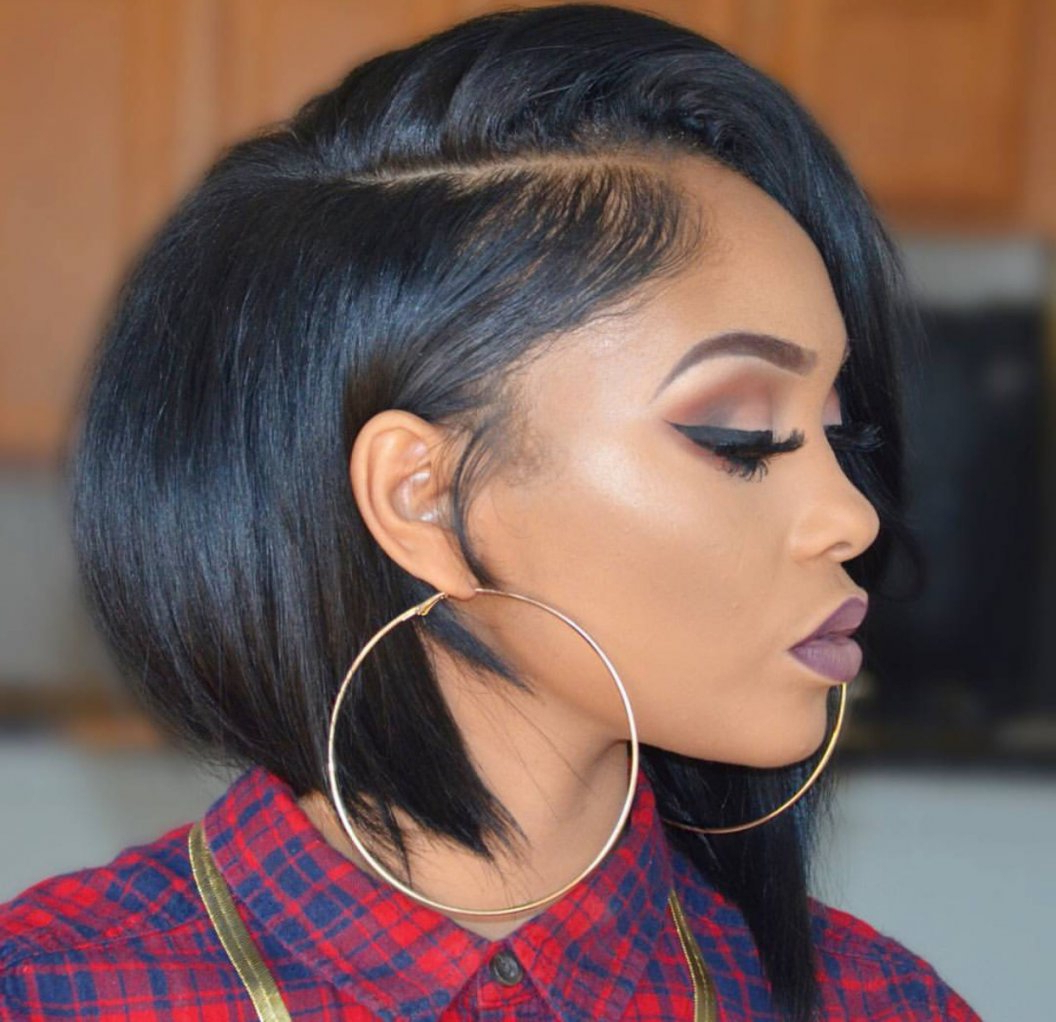 Cute Short Hairstyles For Black Women – Leymatson Within Short Haircuts For Black Women With Round Faces (View 7 of 25)