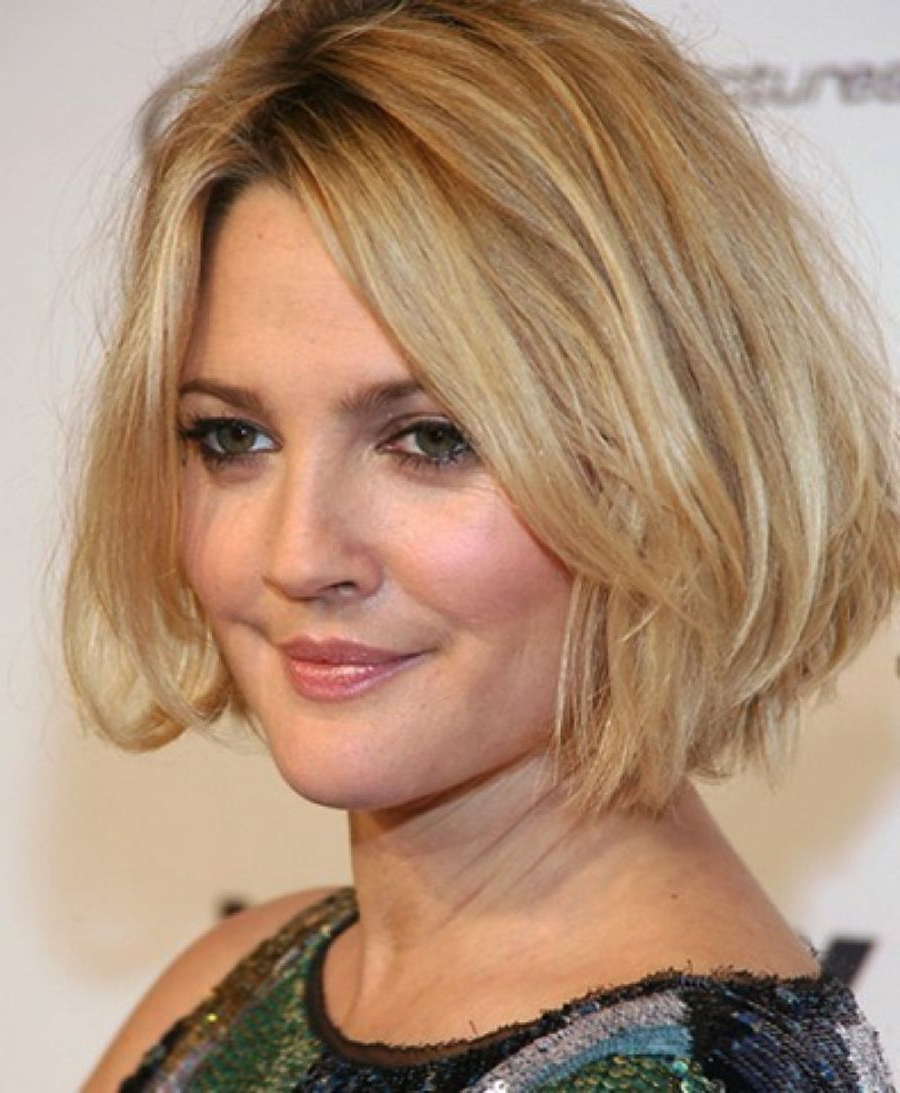 Cute Short Hairstyles For Fat Women   Short Hairstyles For Fat Women With Regard To Short Hairstyles For Chubby Cheeks (View 8 of 25)