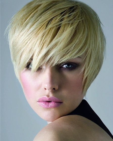 Cute Short Hairstyles For Heart Shaped Faces | Haircuts | Pinterest Within Cute Shaped Crop Hairstyles (View 17 of 25)