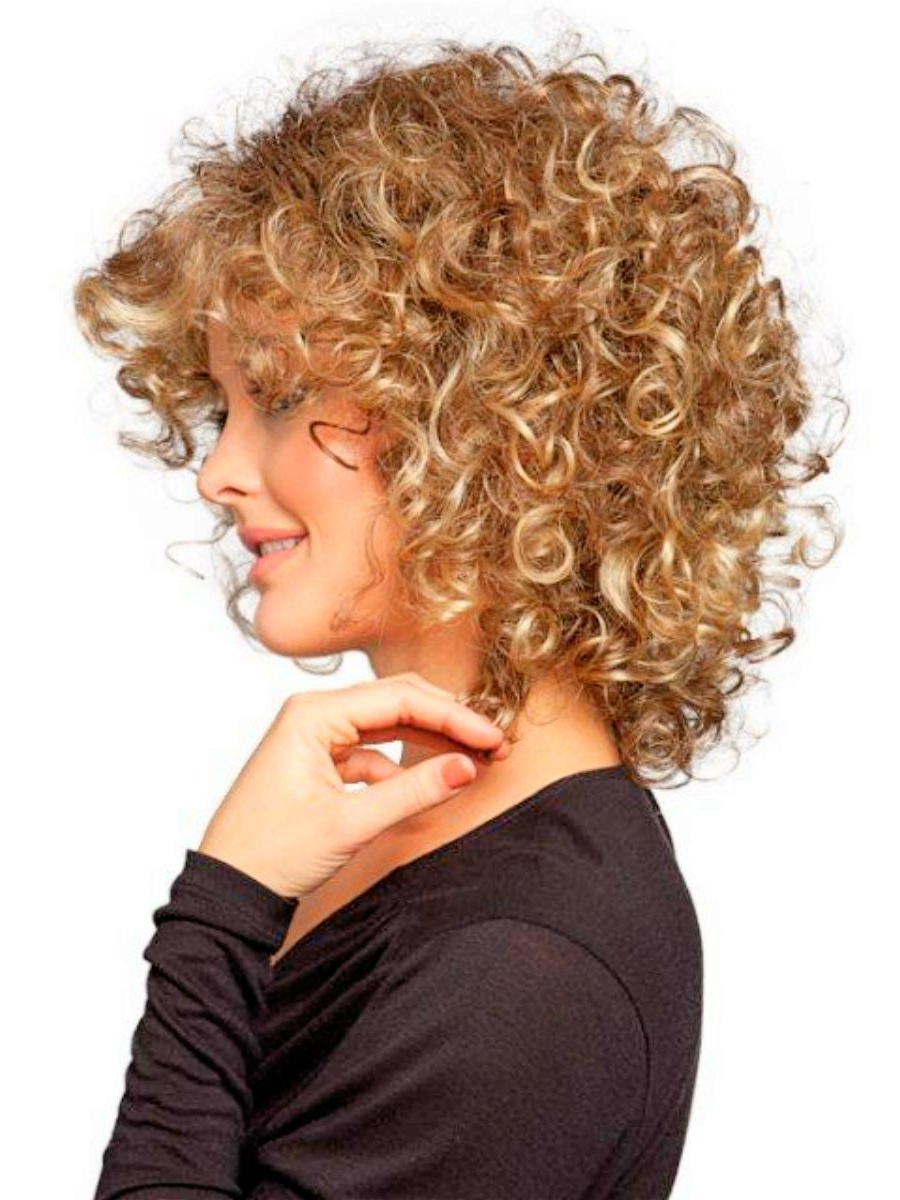 Cute Short Hairstyles For Thick Curly Hair Throughout Short Fine Curly Hairstyles (View 25 of 25)