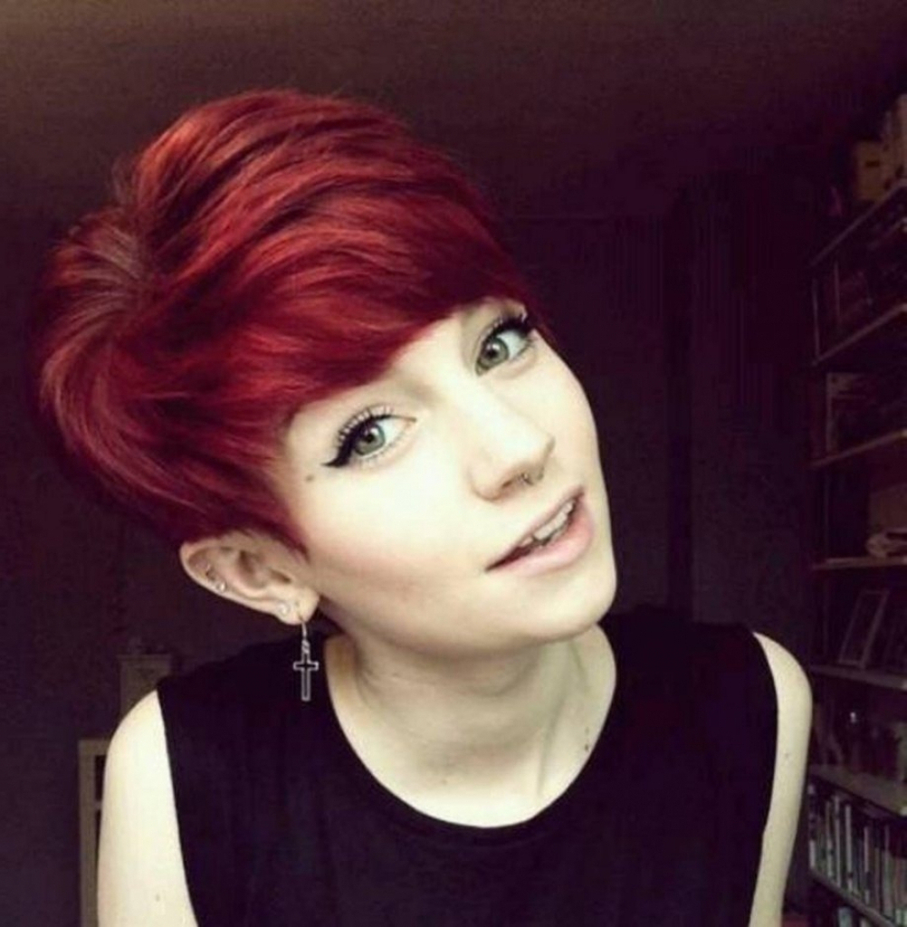 Cute Short Hairstyles Red Hair Hairstyles With Regard To Cute Short For Short Haircuts With Red Hair (View 16 of 25)