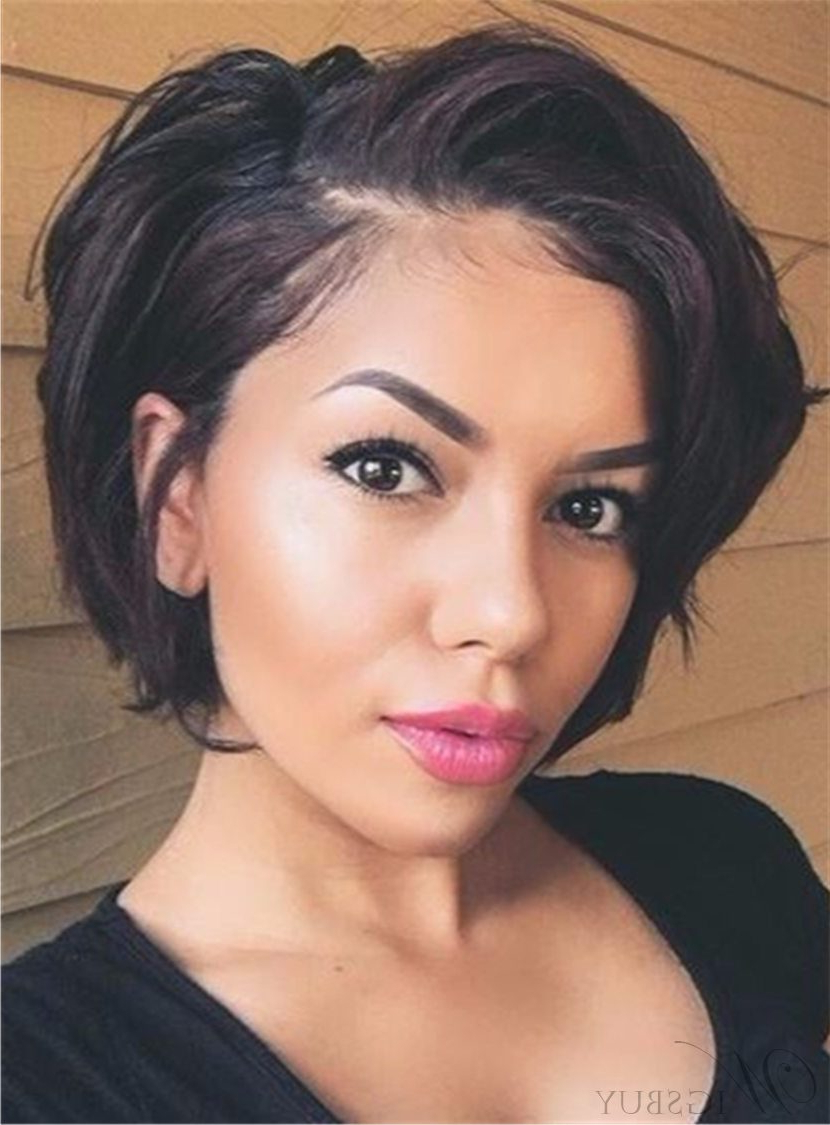 Cute Short Layered & Curly Bob Haircuts Short Bob Hairstyles Online With Black Short Layered Hairstyles (View 9 of 25)