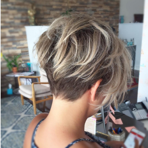 Cute Undercut Hairstyles For Women — Posh Beauty Blog In Funky Pixie Undercut Hairstyles (View 9 of 25)