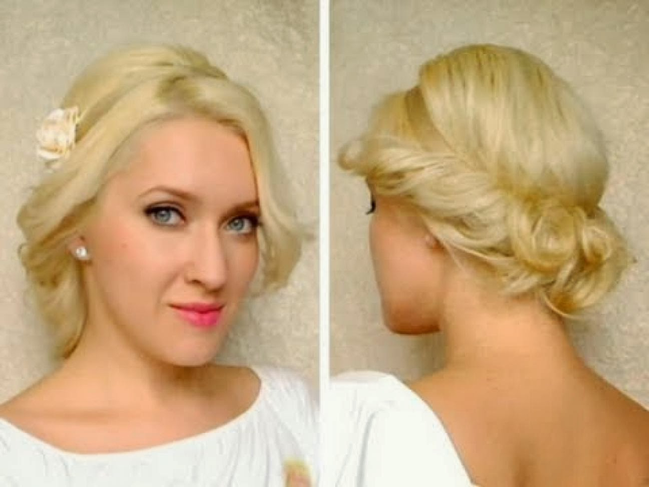 Cute Updo Hairstyles For Short Hair | Natural Hairstyles & Haircuts 2015 Inside Cute Wedding Hairstyles For Short Hair (View 7 of 25)