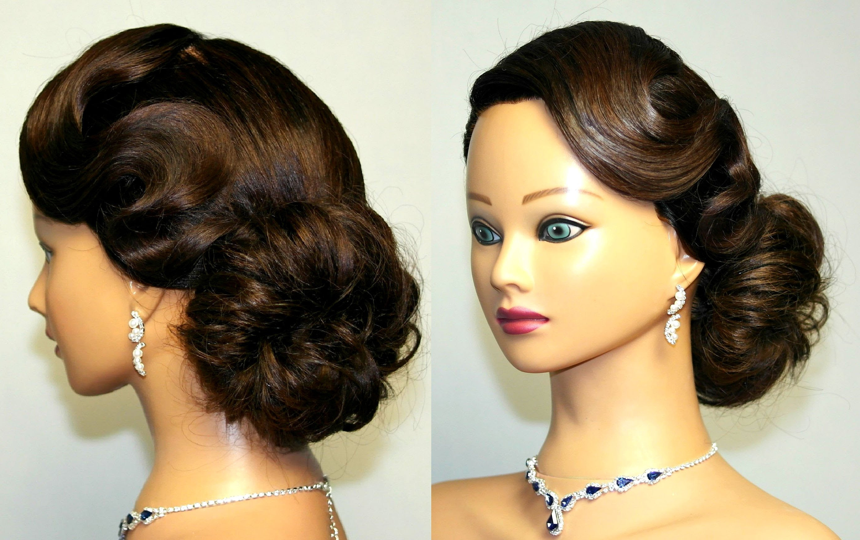 Cute Vintage Hairstyles For Short Hair Best Of Updo For Medium Regarding Vintage Hairstyle For Short Hair (View 9 of 25)