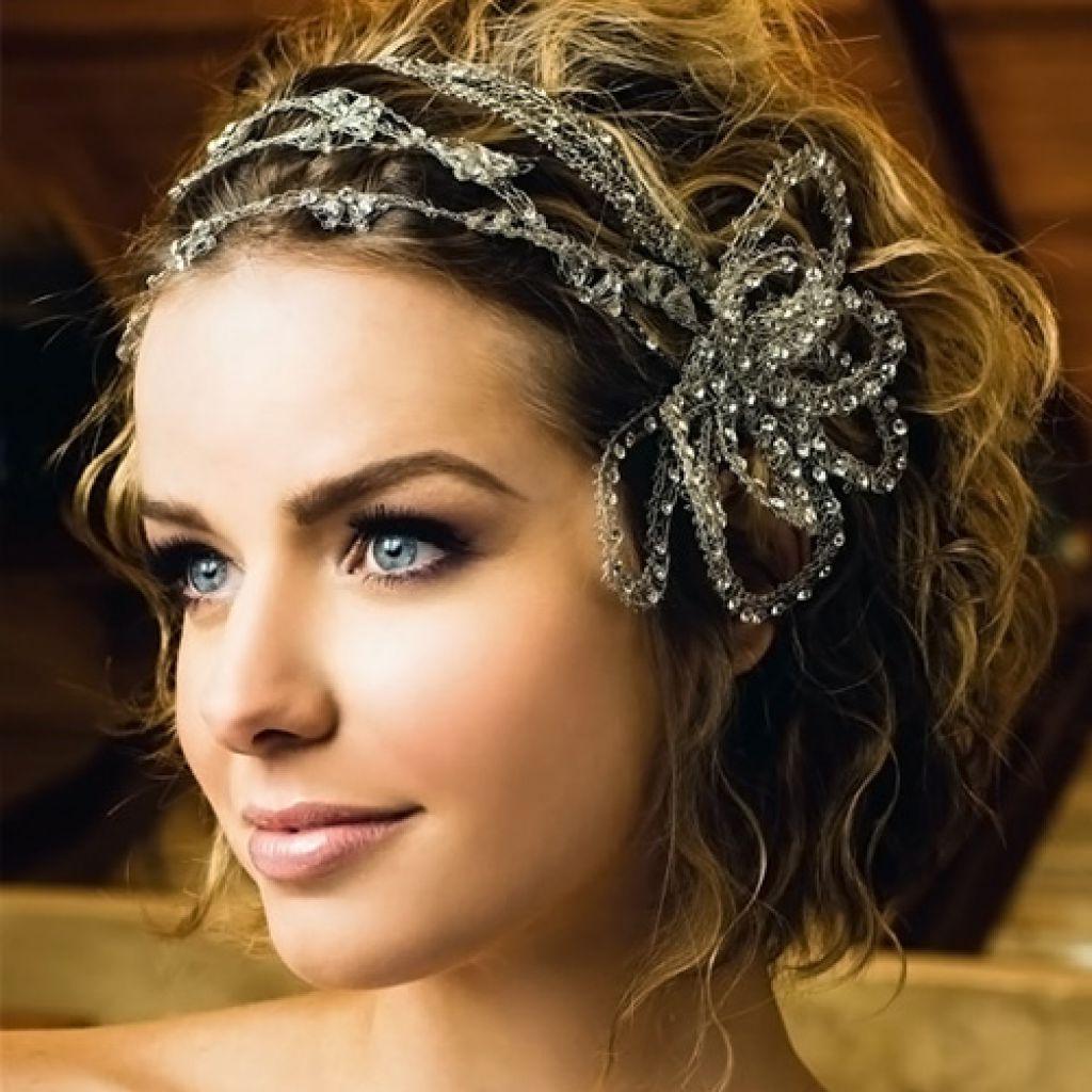 Cute Wedding Hairstyles For Short Hair – Wedding Hairstyles Regarding Hairstyle For Short Hair For Wedding (View 19 of 25)