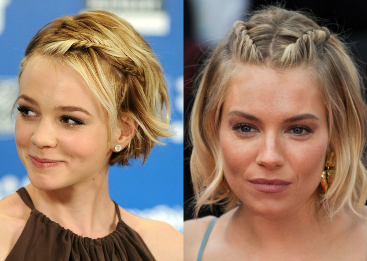Cutest Braids For Short Hair To Try Today | Hairdrome Within Cute Celebrity Short Haircuts (View 13 of 25)