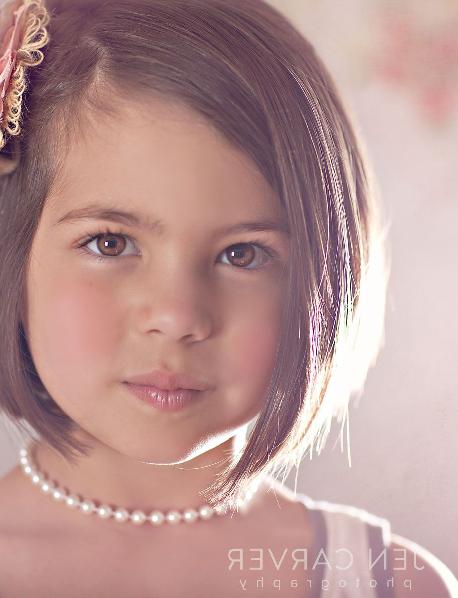 Cutest Little Girl Hair Cut Ever!!! | Ahni & Camille | Pinterest Within Young Girl Short Hairstyles (View 12 of 25)