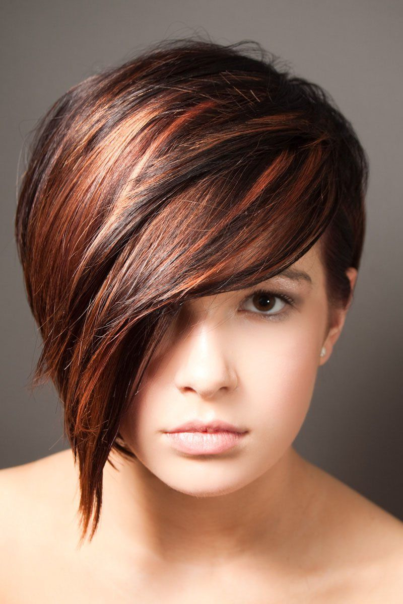 Dark Auburn Hair Color Short Hair - Google Search | Stylist intended for Auburn Short Haircuts
